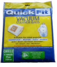 Hoover vacuum bags QB832