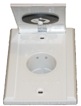 Ducted faceplate