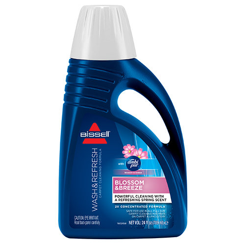 Bissell 2X concentrated Blossom & breeze  shampoo 709 mL