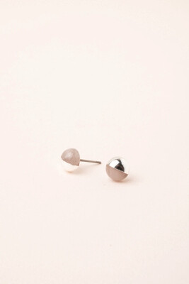 Dipped Stone Earring Heart #ES003