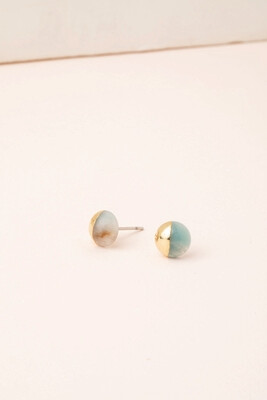 Dipped Stone Earrings Courage #ES008