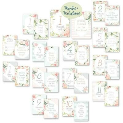 Milestone Cards Floral #MC8382
