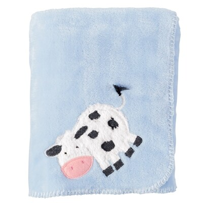 Cow Fleece Blanket #11000075