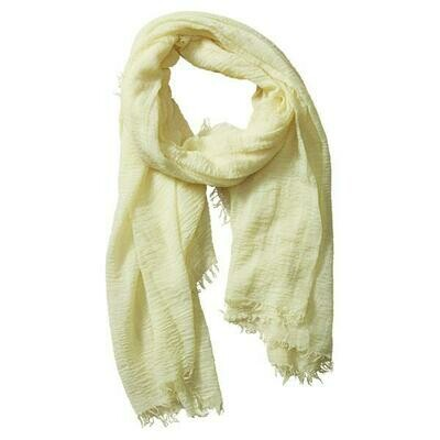 Classic Insect Scarf #ISS177-Light Yellow