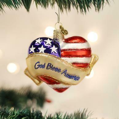 God Bless America Heart #30037