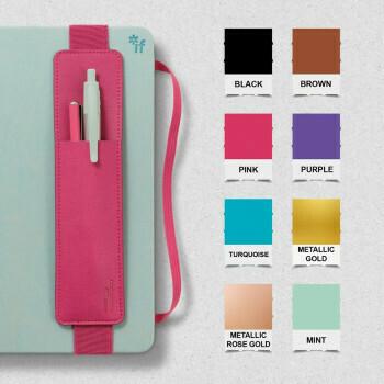 Bookaroo Pen Pouch Purple #40704
