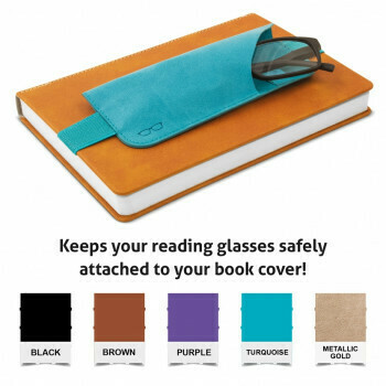Bookaroo Glasses Case Purple #41203