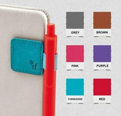 Bookaroo Pen Holder Grey #41301