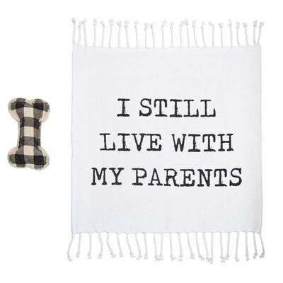 Parents Dog Blanket Toy Set #40220042P
