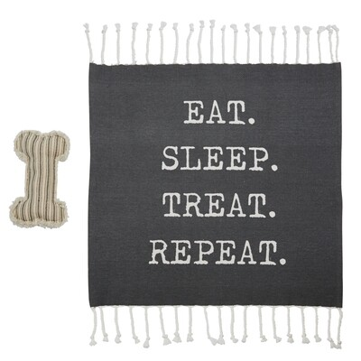 Repeat Dog Blanket Toy Set #40220042R