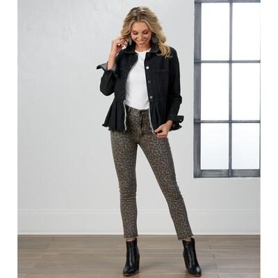 Rory Leopard Jeans #85200103LP