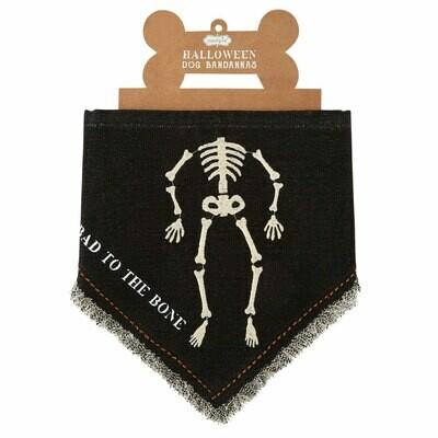 Skeleton Dog Bandana #40220049S