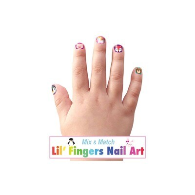 Lil' Fingers Nail Art-Animal Friends #J1012