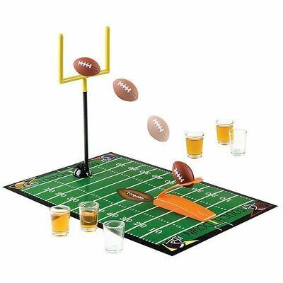 Football Game W/6 Shot Glasses #3700G