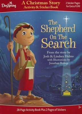 The Shepherd On The Search Activity & Sticker Book #89524