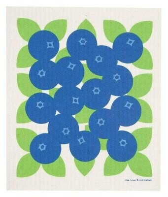 Swedish Dishcloth Blueberries #219.42
