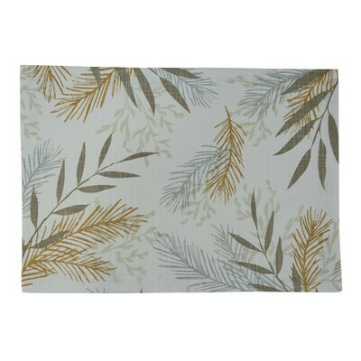 Neutral Sprigs Placemat #9987-010