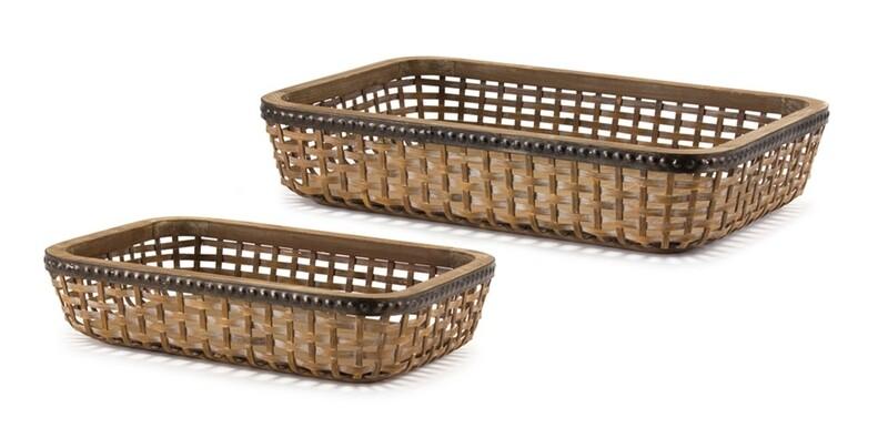 Bamboo/Wood Tray Small #80503