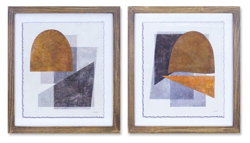 Frame Print Wood #82161