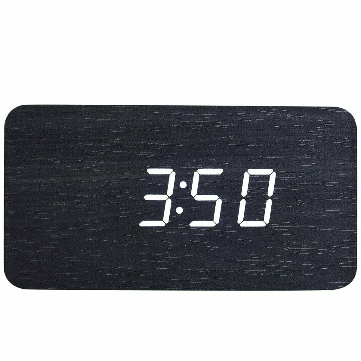 Walnut Wood Digital Clock #3015