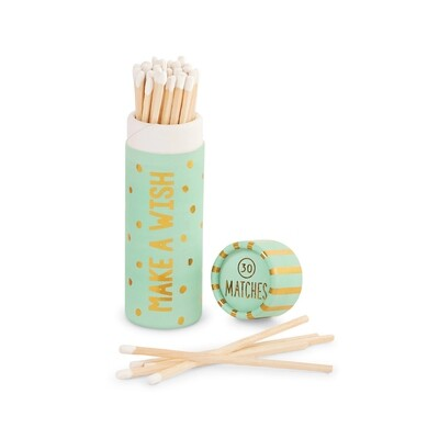 Teal Birthday Matches Tube #42600540T