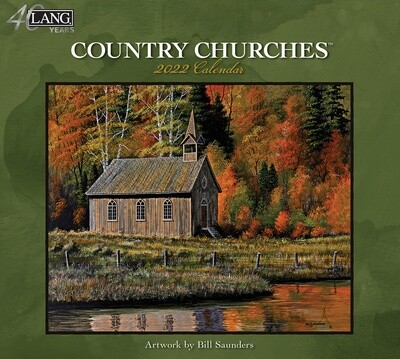 Country Churches 2022 Calendar