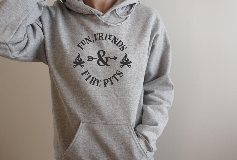 Fun Friends & Firepits Hooded Sweatshirt