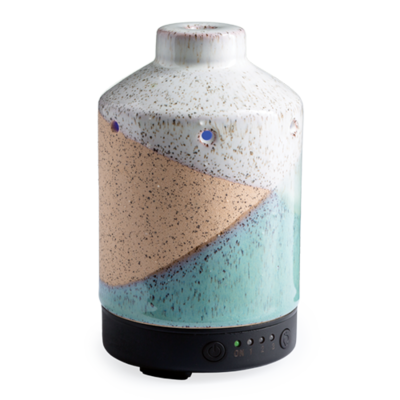 Ultrasonic Essential Oil Diffuser W/Timer Speckled Shore #TDSPS