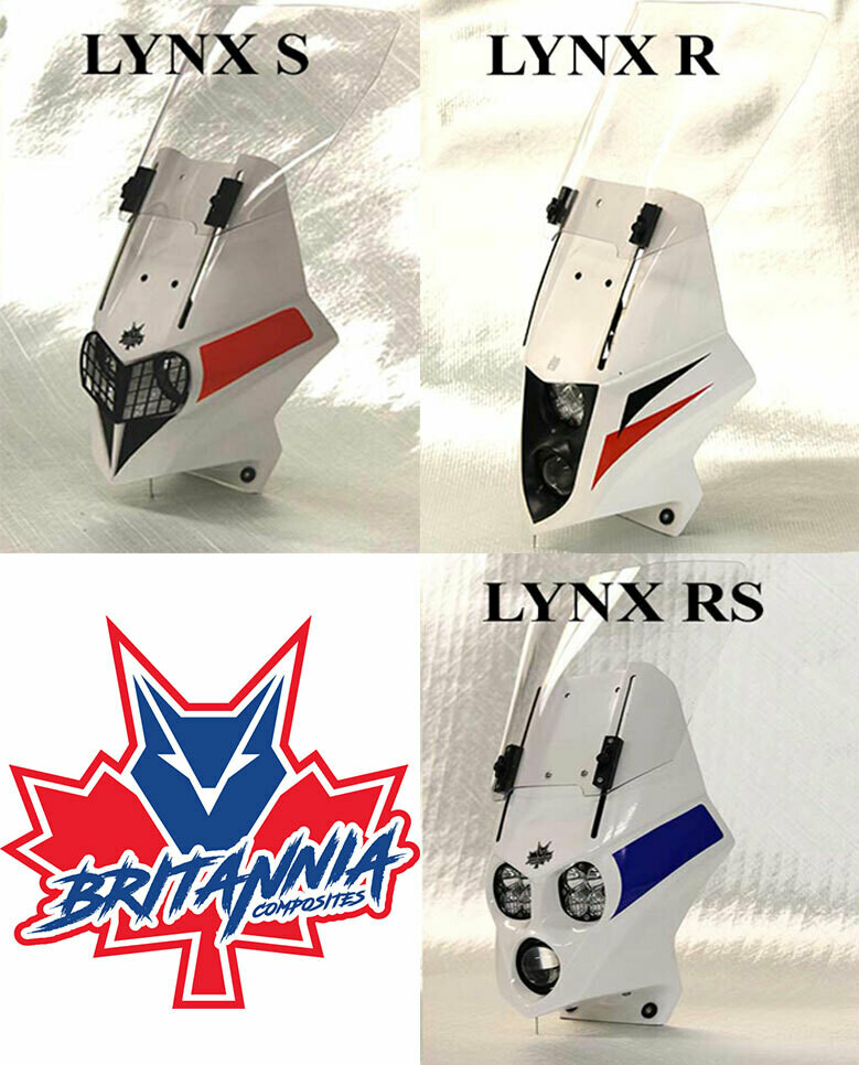 Lynx Fairing for Kawasaki KLR 650 (1987-2007)
