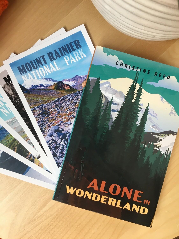 Alone in Wonderland - Book+