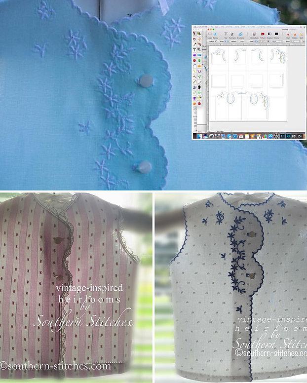 vintage-inspired h e i r l o o m series 2 pattern eBook