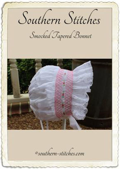 Smocked Tapered Bonnet ePattern