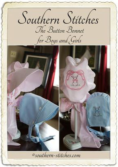 The Button Bonnet for Boys & Girls ePattern