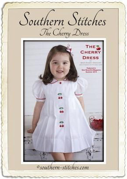 The Cherry Dress ePattern 12mos to 4T