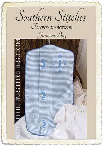 SS Forever-an-heirloom Garment Bag ePattern