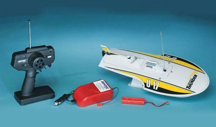 AquaCraft Mini Thunder Round Nose Hydroplane RTR
