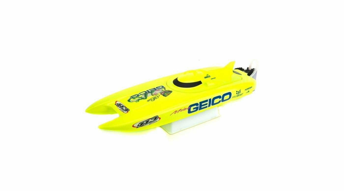 Miss Geico 17-inch Catamaran Brushed: RTR (PRB08019)