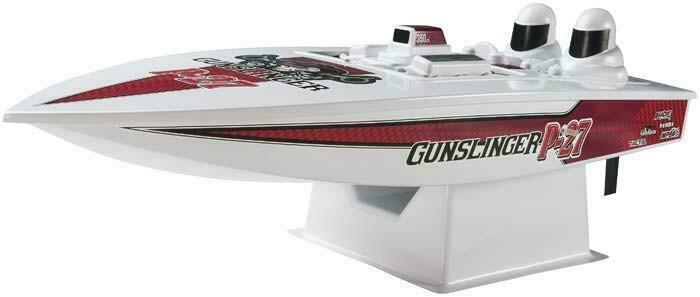 AquaCraft P-27 Gunslinger Boat RTR
