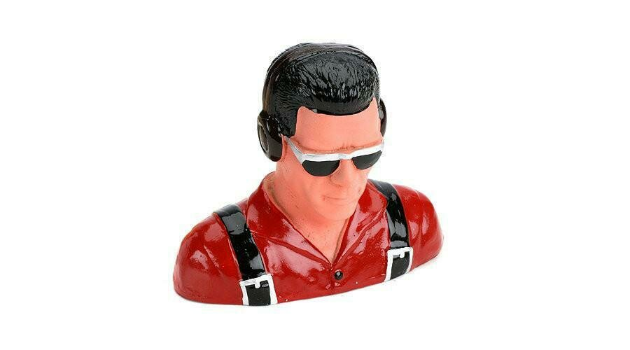 1/5 Pilot, Civilian w/Headphones & Sunglasses (Red)  by Hangar 9