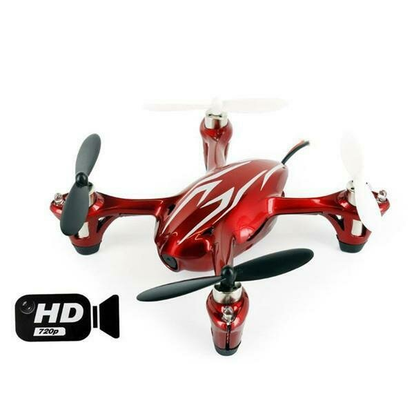 Hubsan X4 (H107C HD) 4 Channel 2.4GHz RC Quad Copter with 720p HD Camera (61170-01)