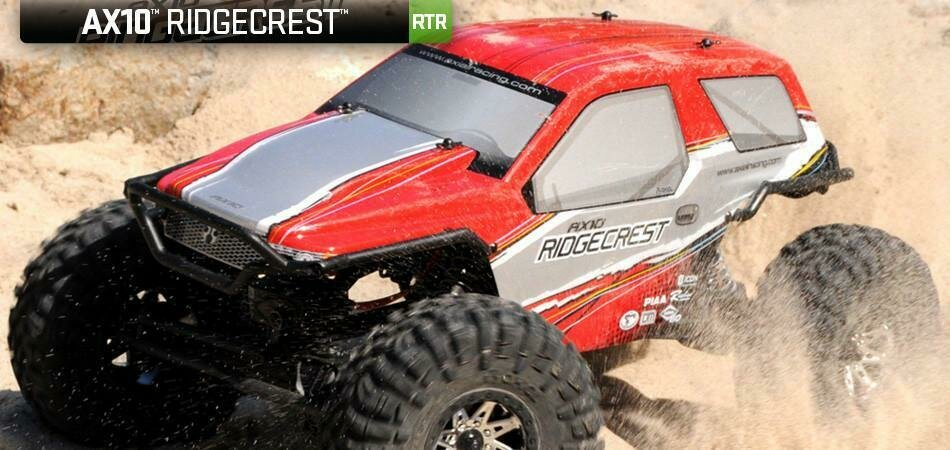 AX10 Ridgecrest - 1/10th Scale Electric 4WD - RTR