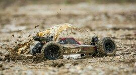 1/10 AMP DB 2WD Desert Buggy RTR, Black/Yellow (ECX03029T1)
