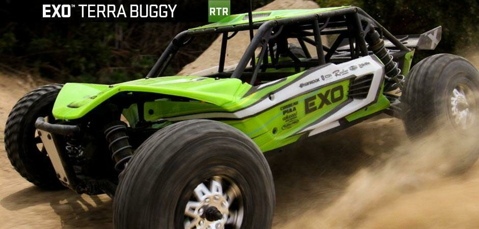 EXO - 1/10th Scale Electric 4WD Terra Buggy- RTR