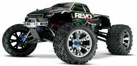 Revo 3.3 4WD Nitro Monster Truck, RTR w/ TQi 2.4GHz Radio and TSM (TRA53097-3)