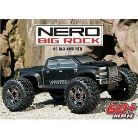 NERO Big Rock BLX 1/8 MT w/Diff Brain RTR