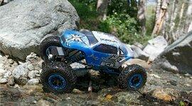 1/18 Temper 4WD Rock Crawler Brushed: RTR (ECX01003)