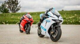 1/14 Outburst Motorcycle RTR, (ECX01004T1)