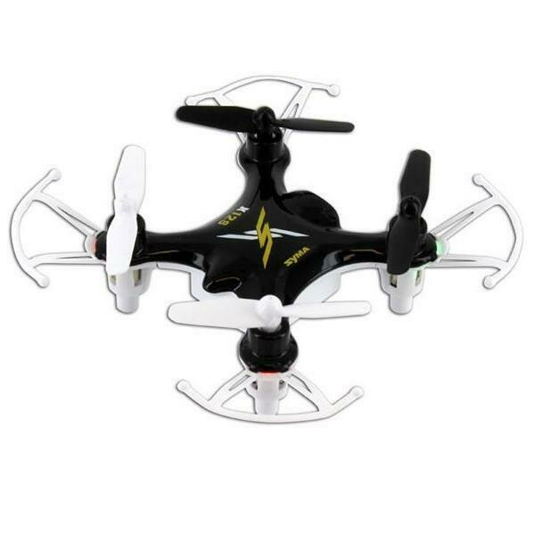 Syma X12S Nano 6-Axis Gyro 4CH RC Quadcopter with Protection Guard-Green (61208-02)
