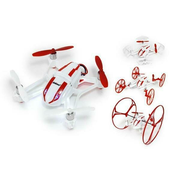 UDI U841 6-Axis Gyro 2.4Ghz 4-in-1 RC Quadcopter with HD Camera -White (61235-01)