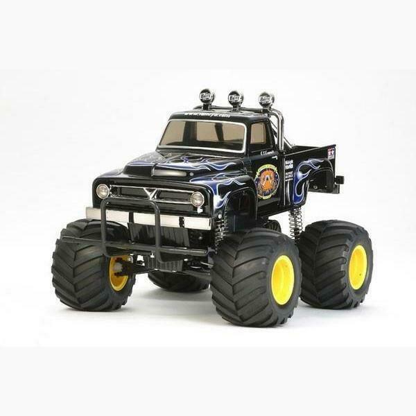 The Midnight Pumpkin, Black Edition 1/12 Monster Truck Kit (TAM58547)